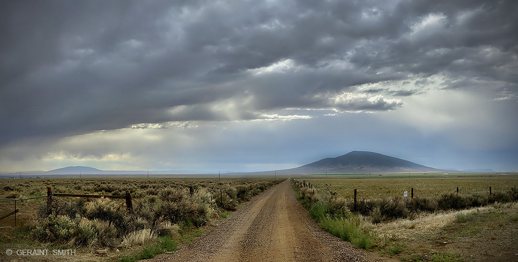 Ute Mountain Road, Northern New Mexico.