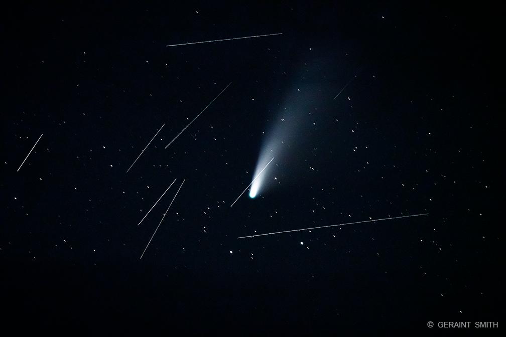 Satellites, Sky, Volcano, Stars, NM
