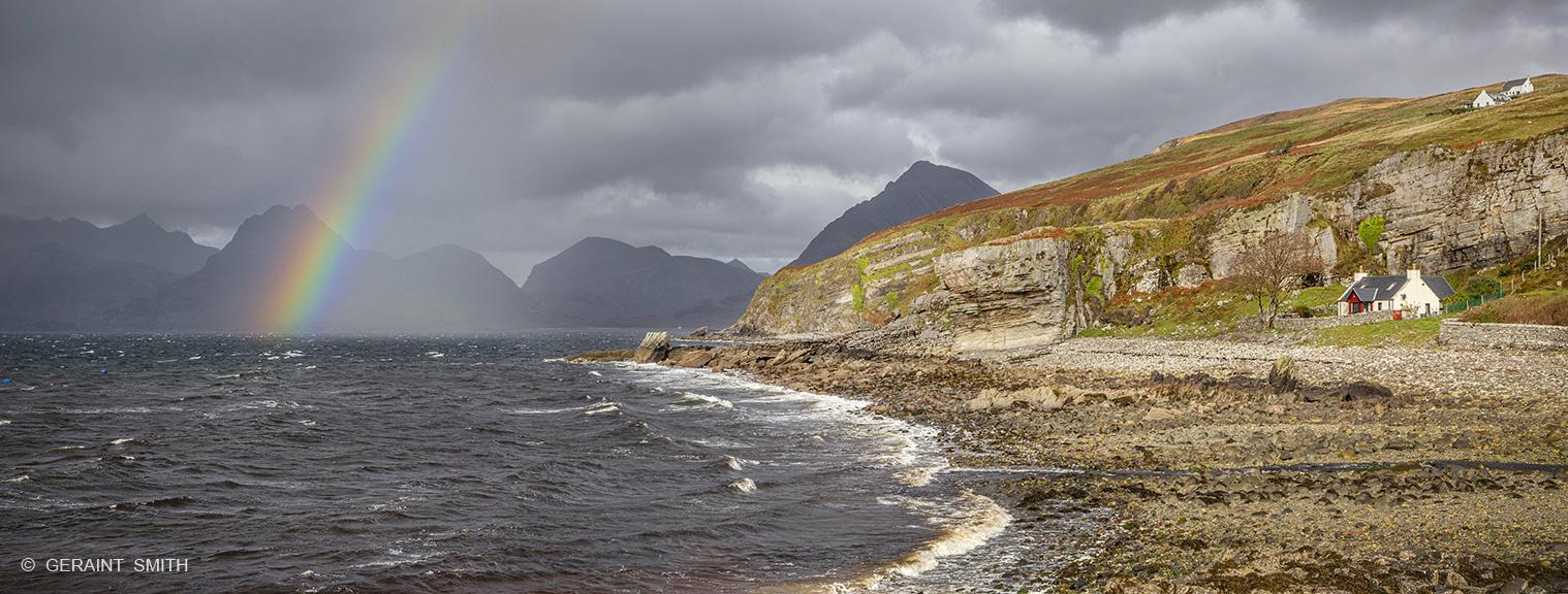 Elgol and the Cuillin Hills, Isle of Skye, Scotland,