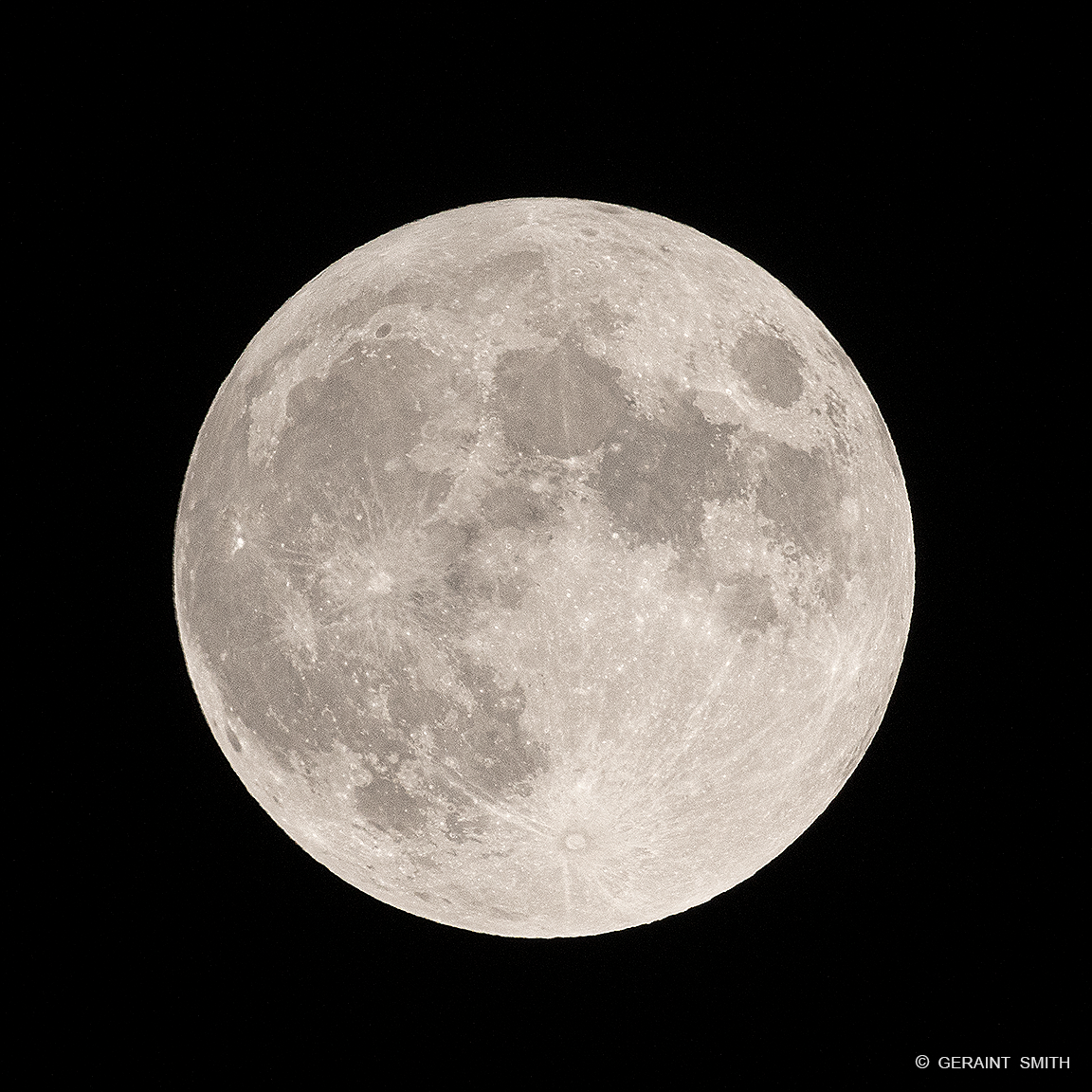 Full Moon, San Cristobal Valley, NM