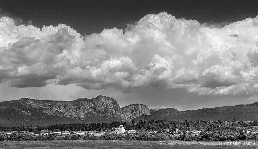 Village, Los Ojos, Brazos Cliffs, New Mexico
