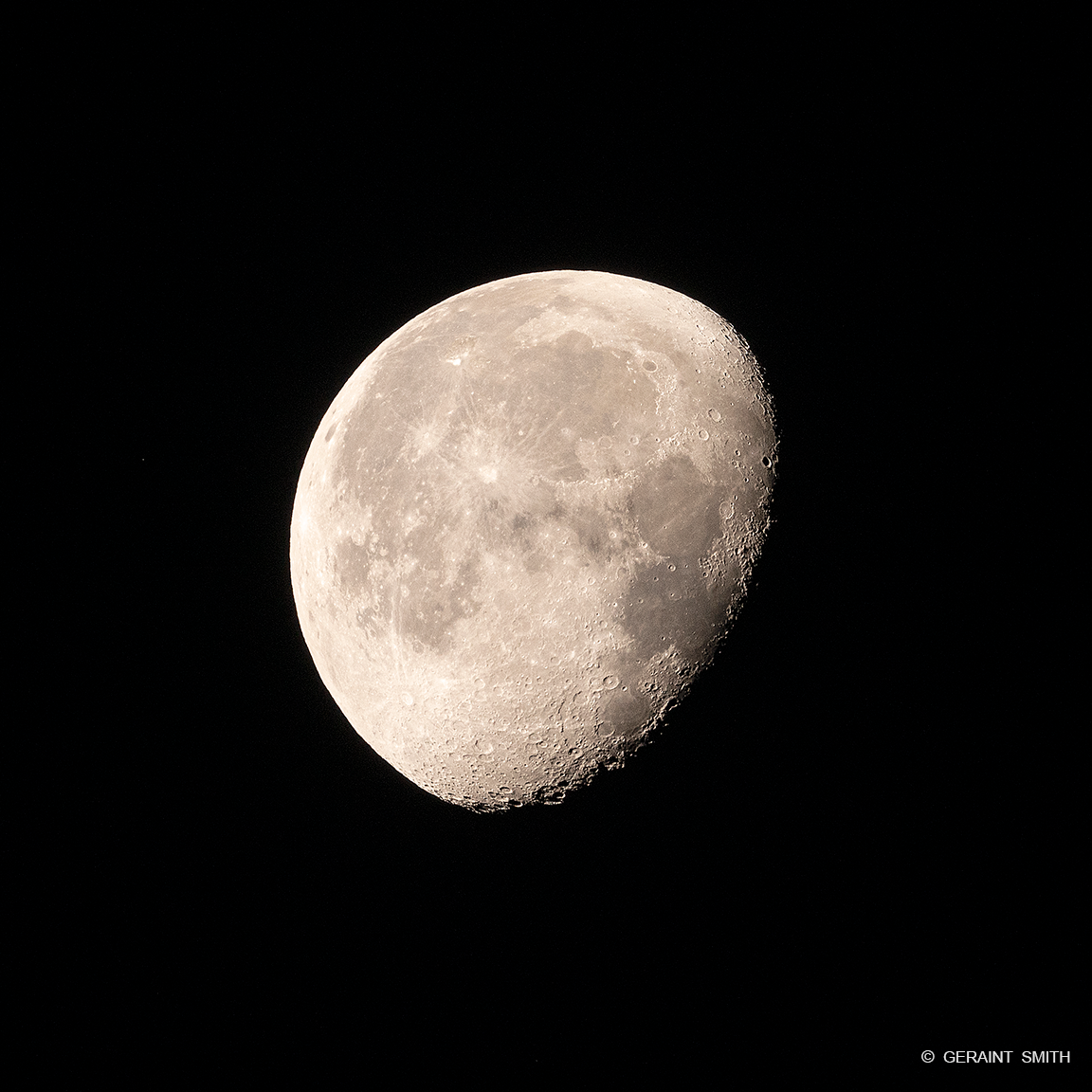 Craters, Moon, San Cristobal, Sky