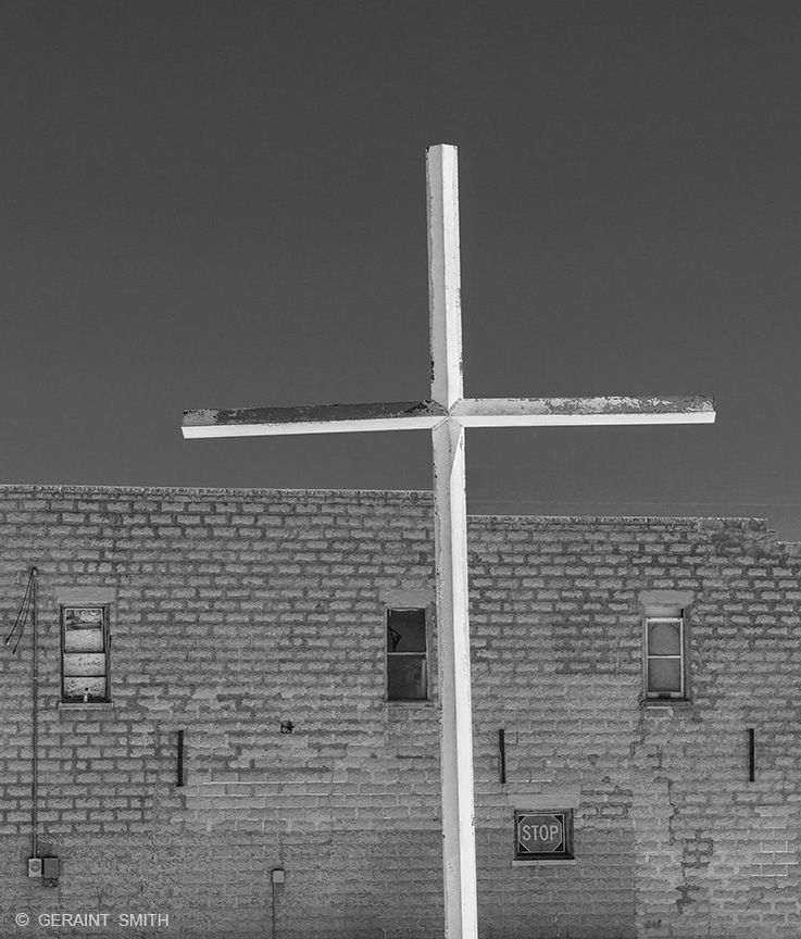 San Acacio, cross, San Luis Valley, Colorado