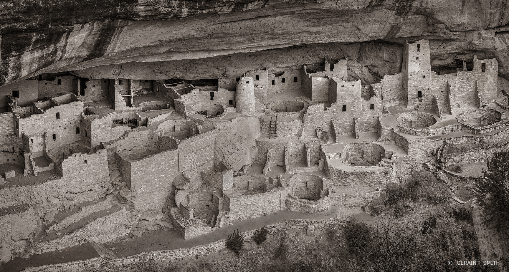 Cliff Palace, Mesa Verde, Colorado.