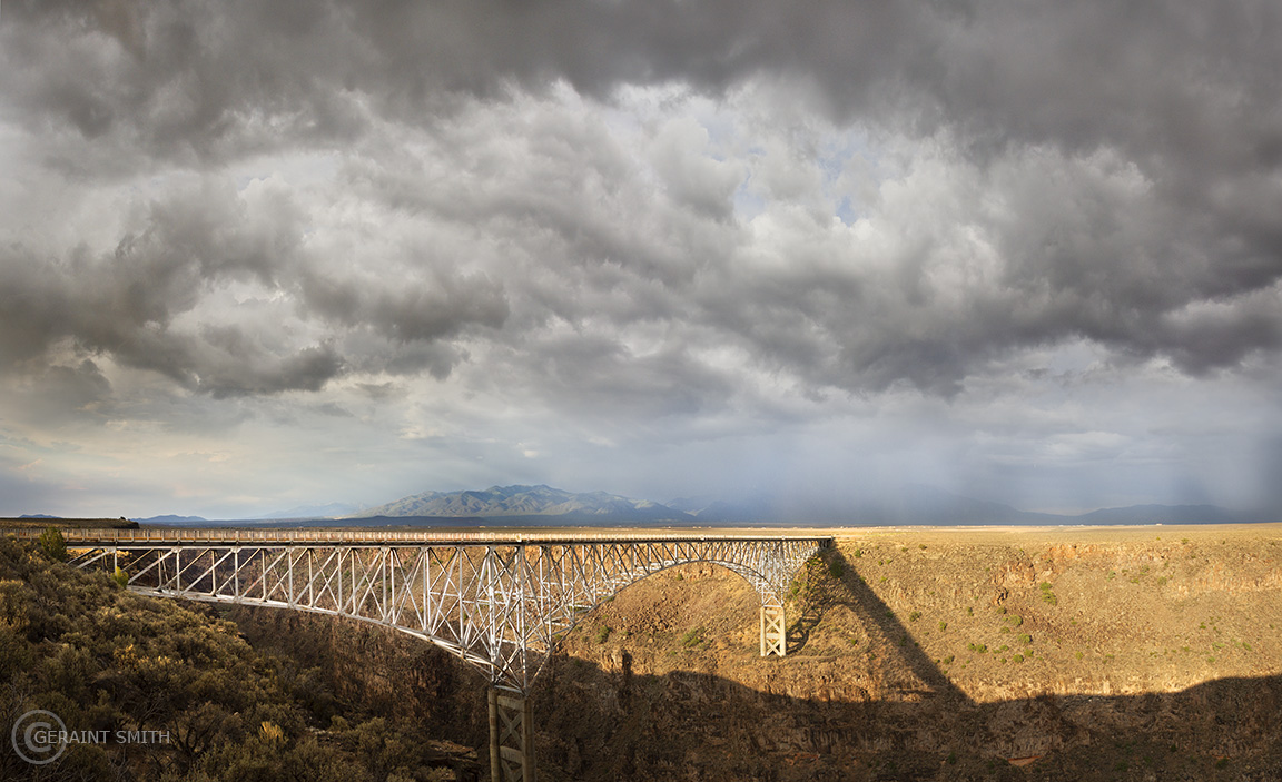 Rio Grande Gorge Bridge. Highway 64, New Mexico