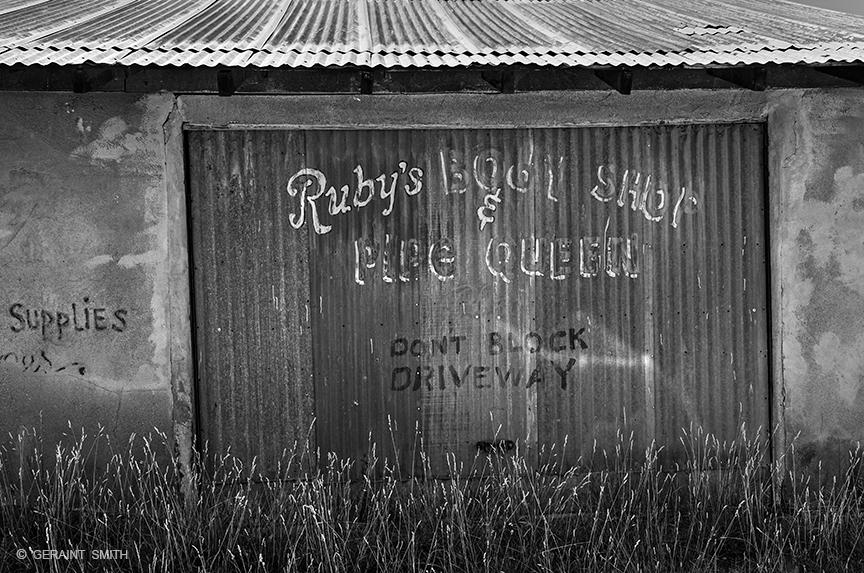 Ruby's Garage Truchas