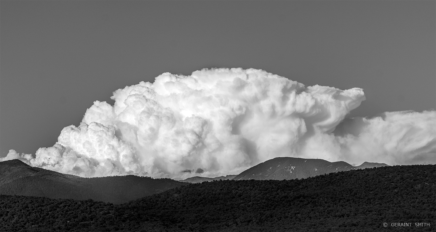 Ursa Major Cloud forming over the Sangre de Cristo Mountains