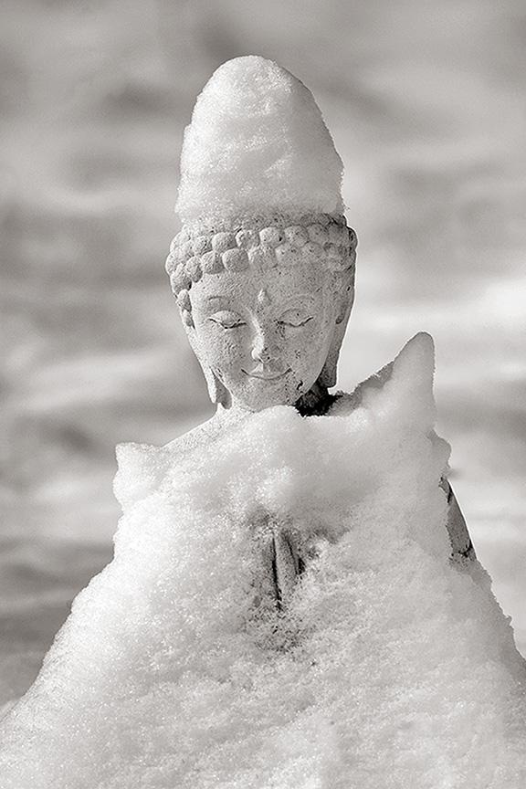 buddha snow blanket 3148
