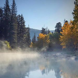 Morning Fog Lifting, Escondido NM