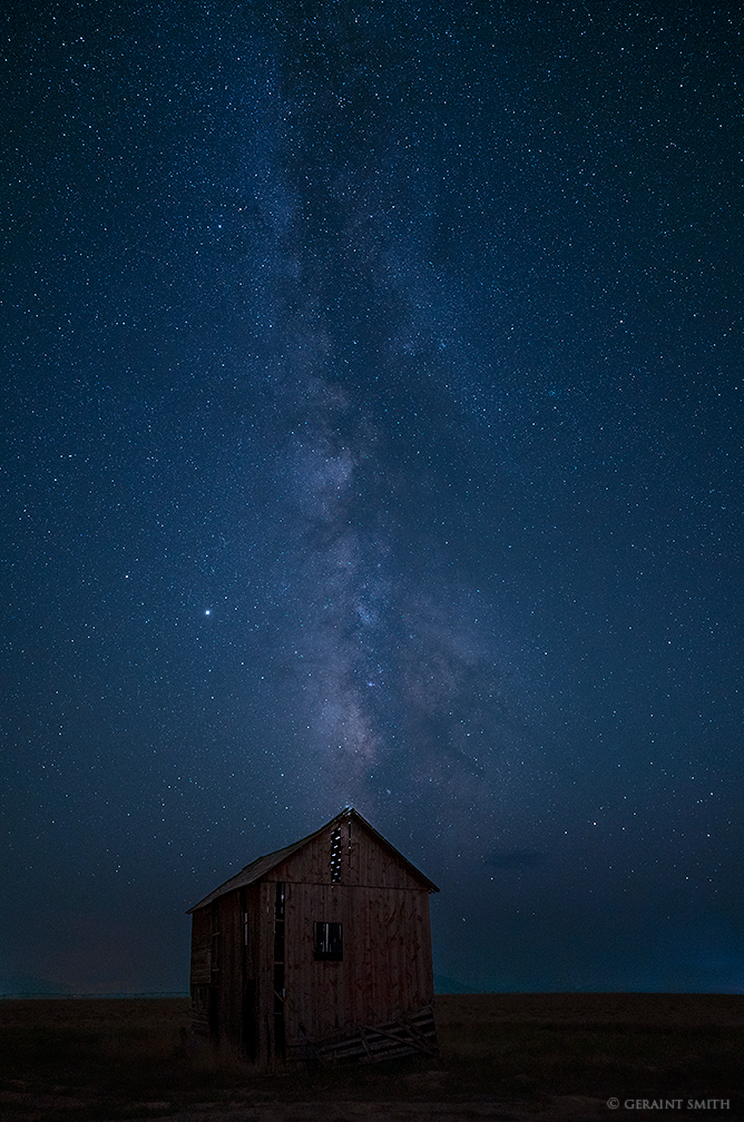 Red Barn, San Luis Valley, Milky Way