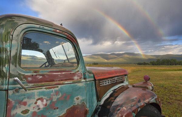 truck rainbow 9661