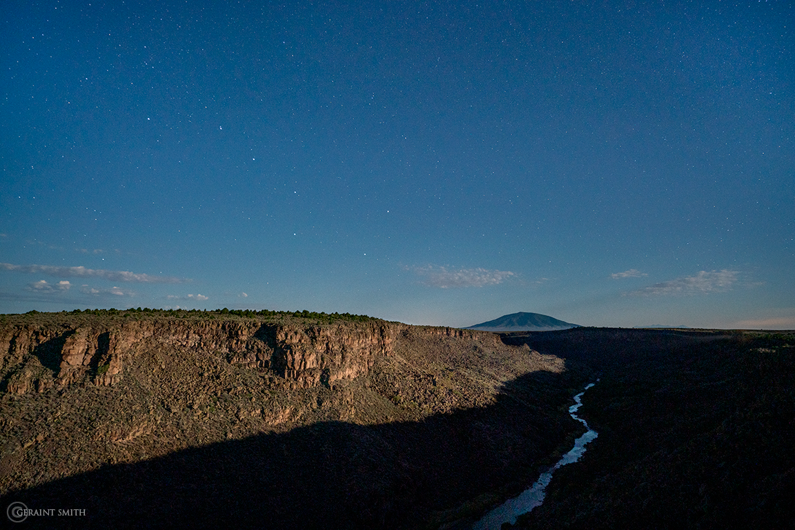 Big Dipper, Ute Mountain, Wild Rivers, Moonlight