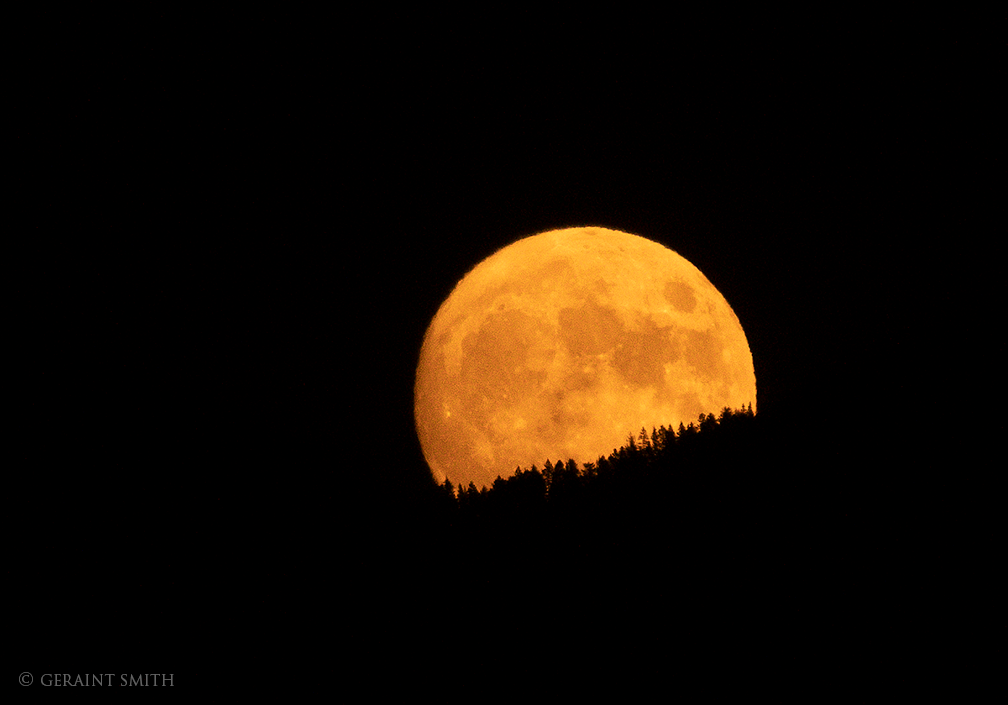Harvest Moon, Sangre De Cristos, October, 2020,