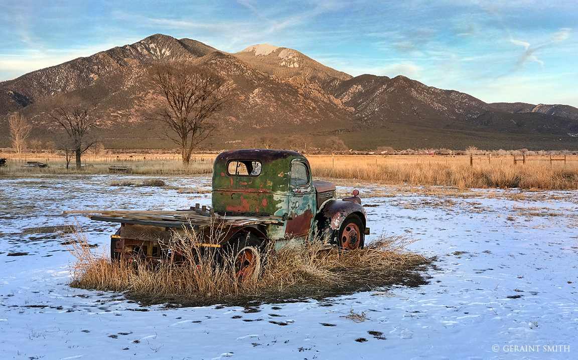 GMC Truck, Overland Ranch, Taos, New Mexico