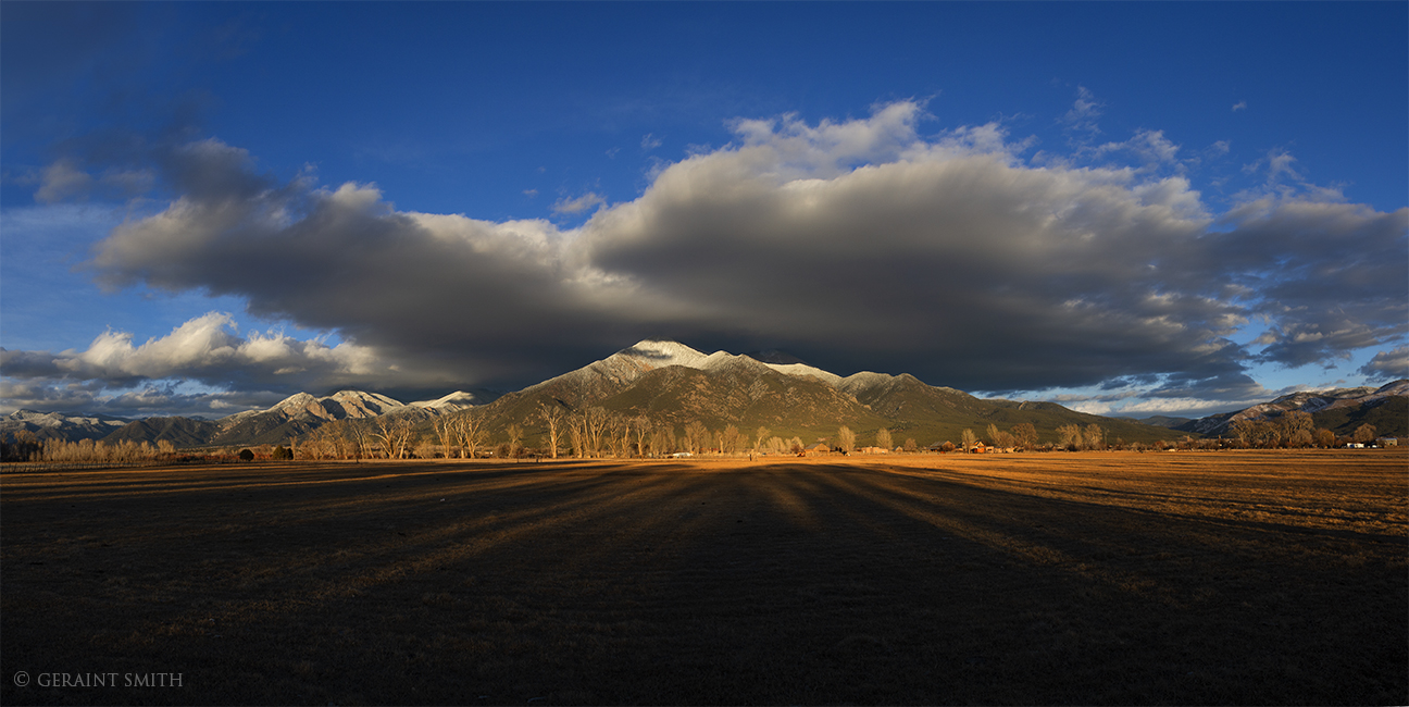Taos Mountain Shadows