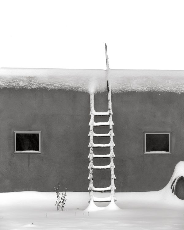 Winter Snow Ladder