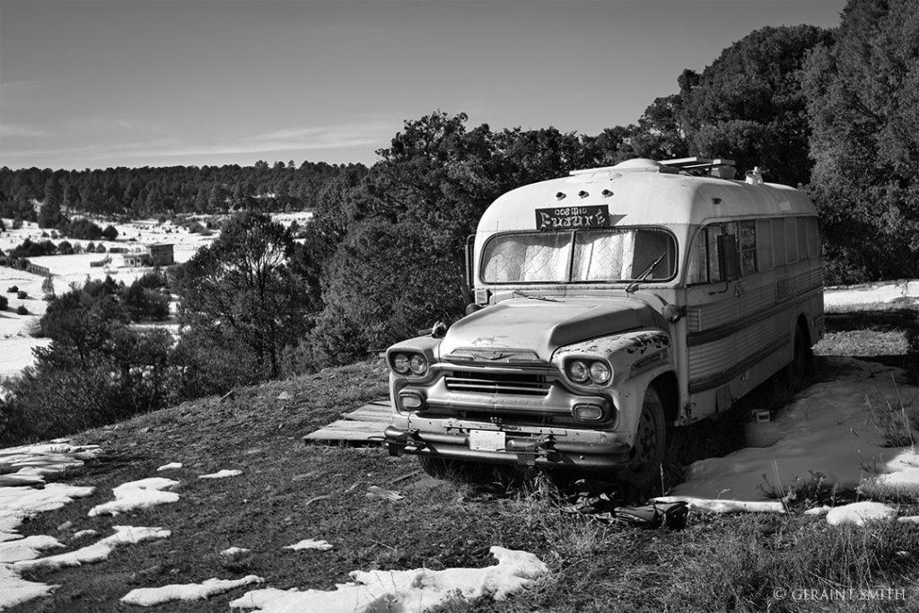 Cosmic Future Bus, Llano de San Juan, NM