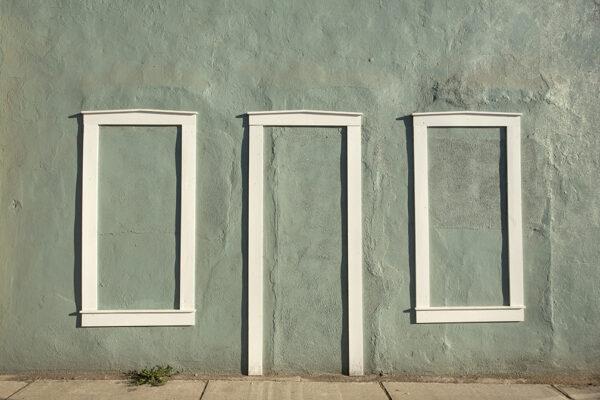 No windows no door