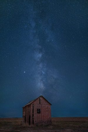 Red Barn, Milky Way