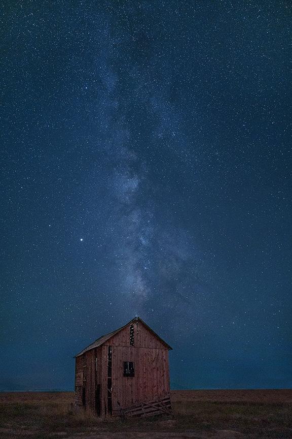 Red Barn, Milky Way