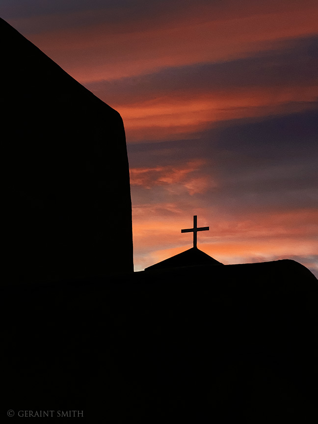 Saint Francis Church sunrise