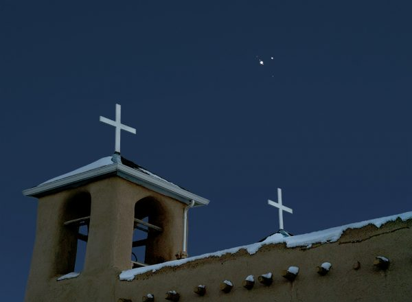 St Francis Church Saturn, Jupiter Conjunction