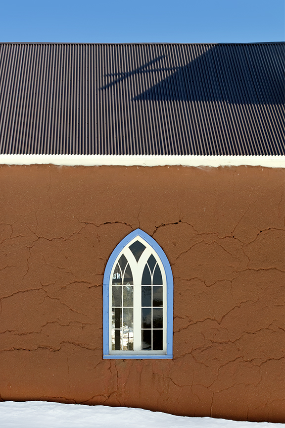 San Rafael Church window shadows