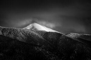 Sangre de Cristo Mountain Winter