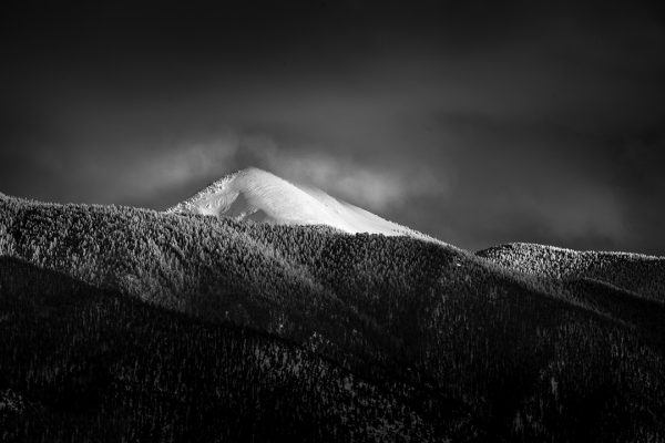 Sangre de Cristo Mountain Winter