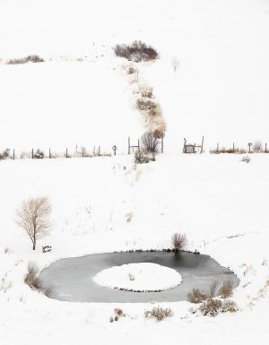 Winter Pond, New Mexico