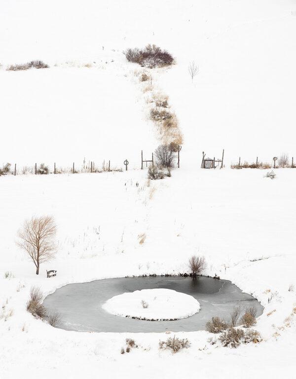 Winter Pond, New Mexico