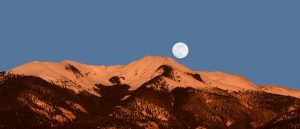 Vallecito Moonrise