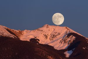 Vallecito Moon Rise