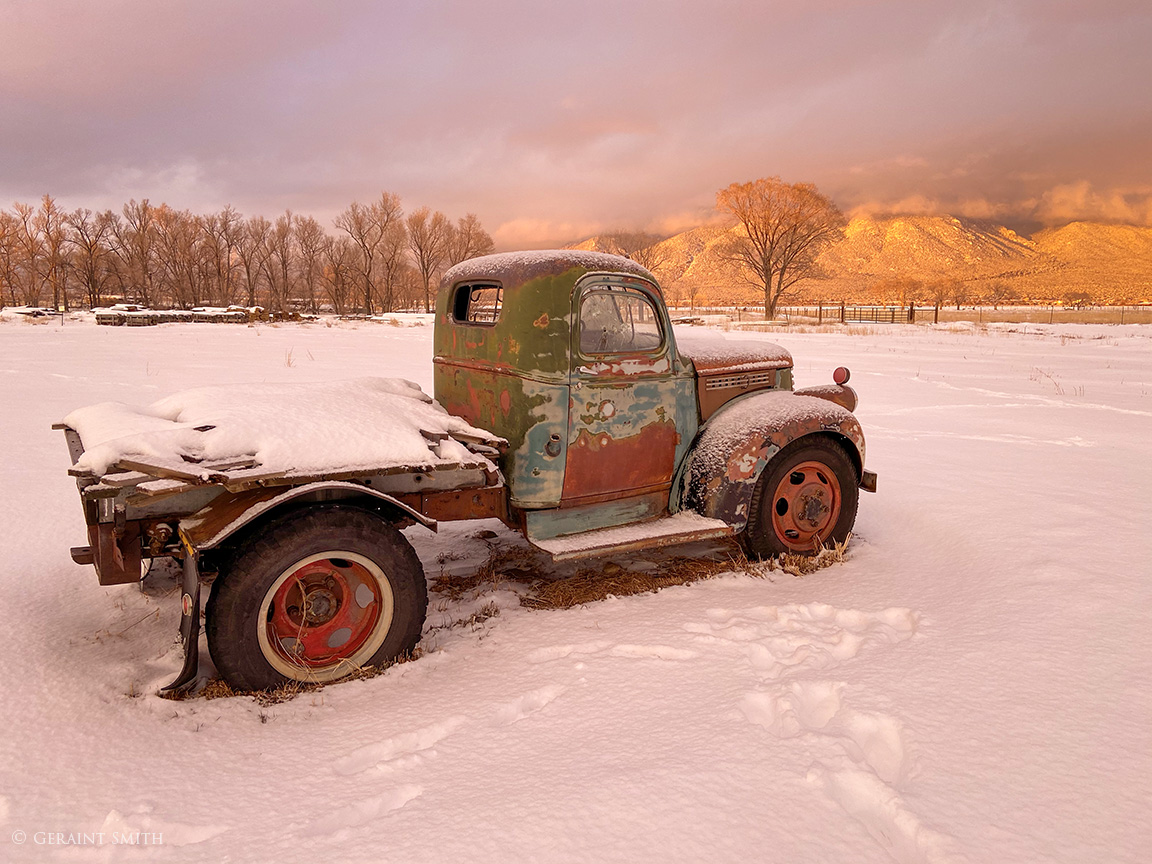 GMC Truck Winter Taos, NM