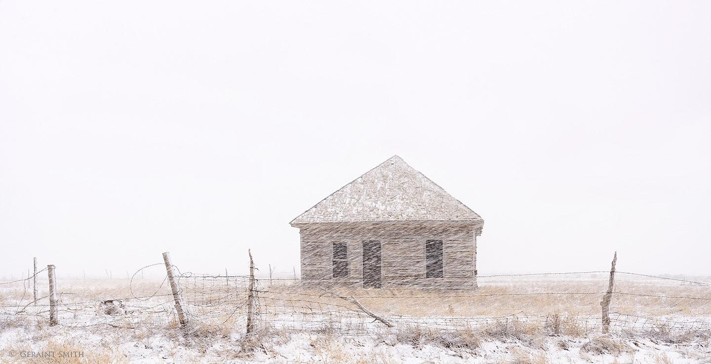 Old homestead, San Luis Colorado.