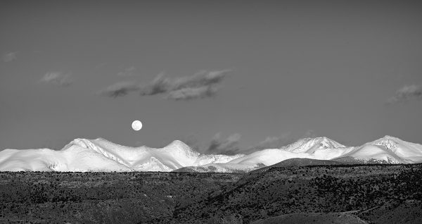 Full Moonrise, Sangre de Cristos