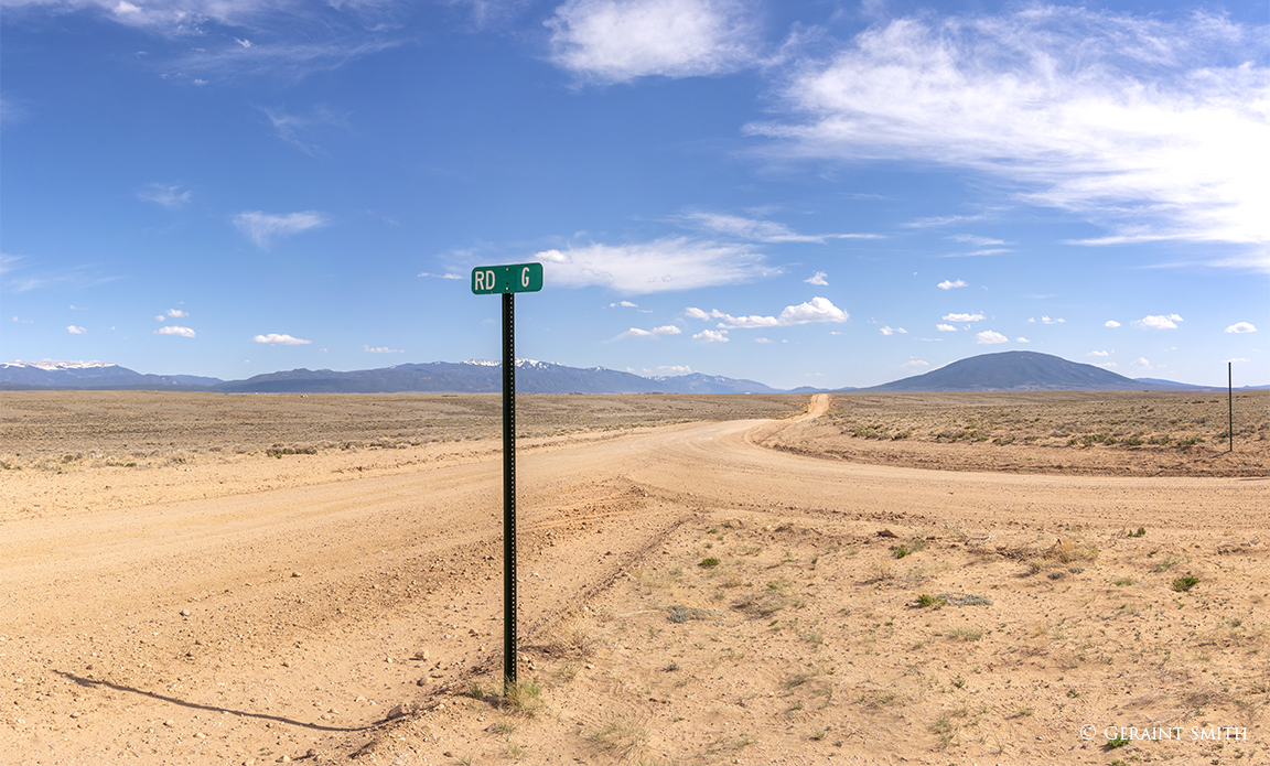 Road G San Luis Valley Ute Mountain