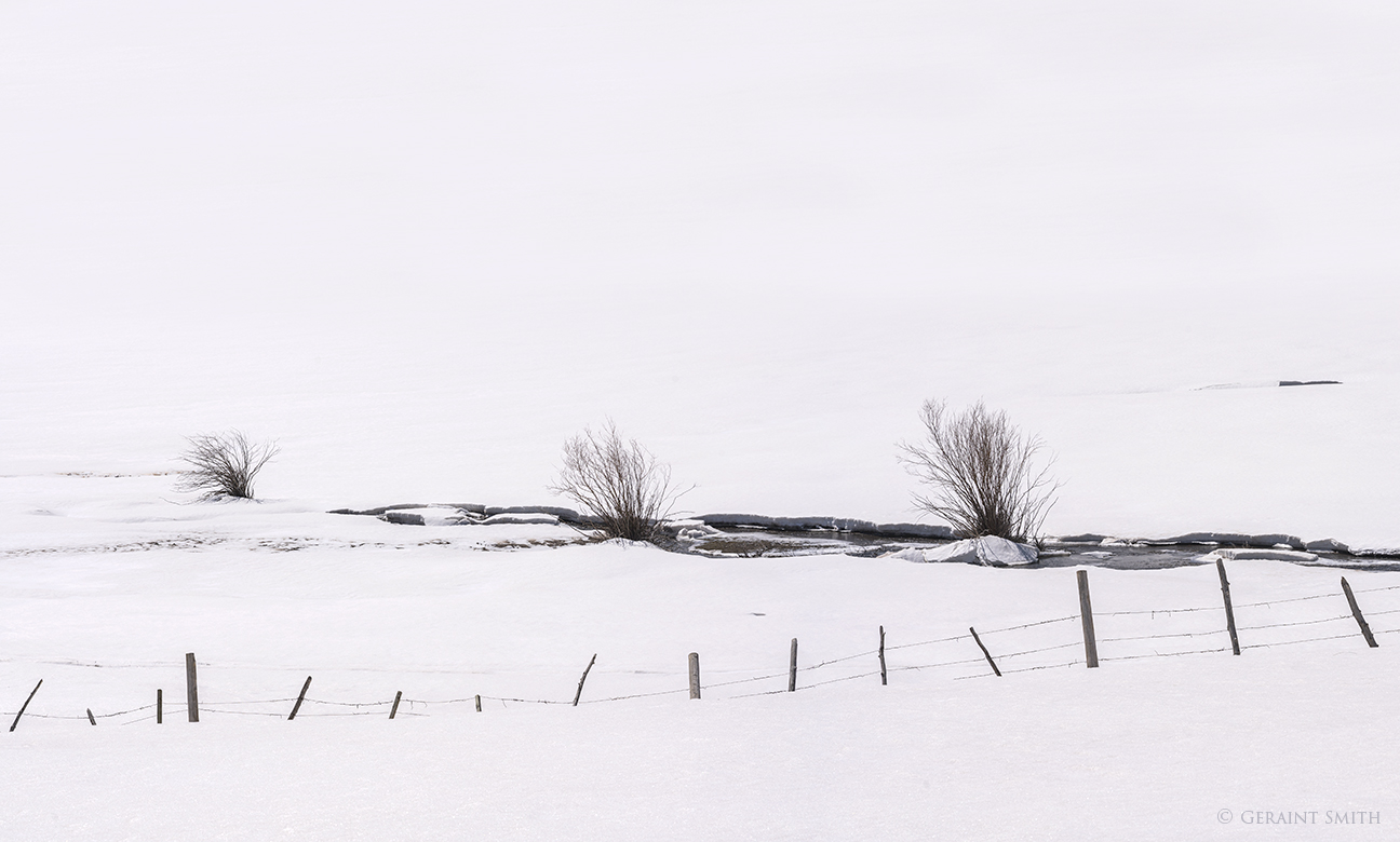 High Country Snow fence