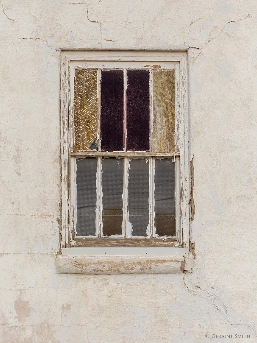 Church window, Tucumcari