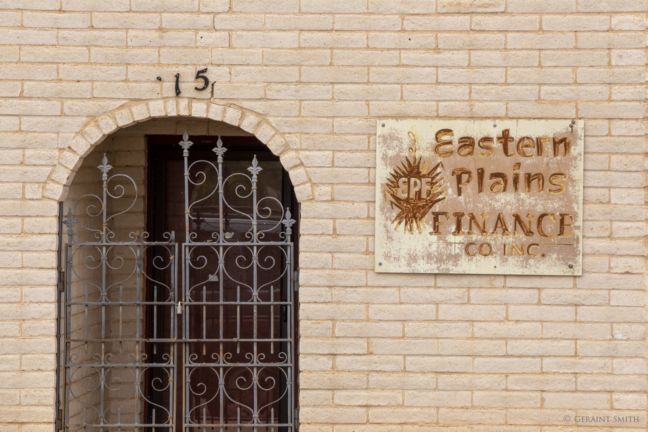 Eastern Plains Finance building, Tucumcari