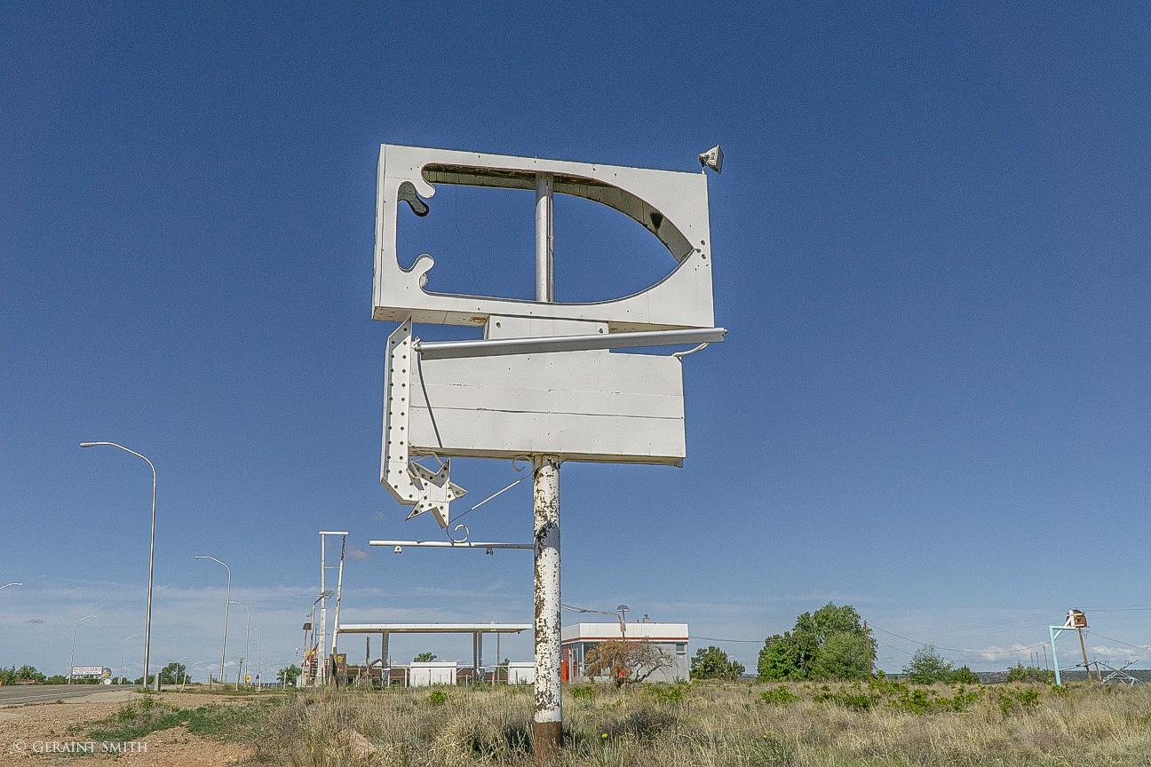 Empty sign Santa Rosa, NM