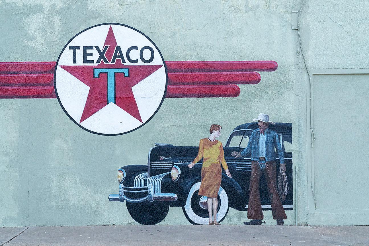 Mural, Tucumcari