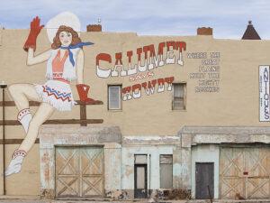 Calumet Mural, Las Vegas, NM