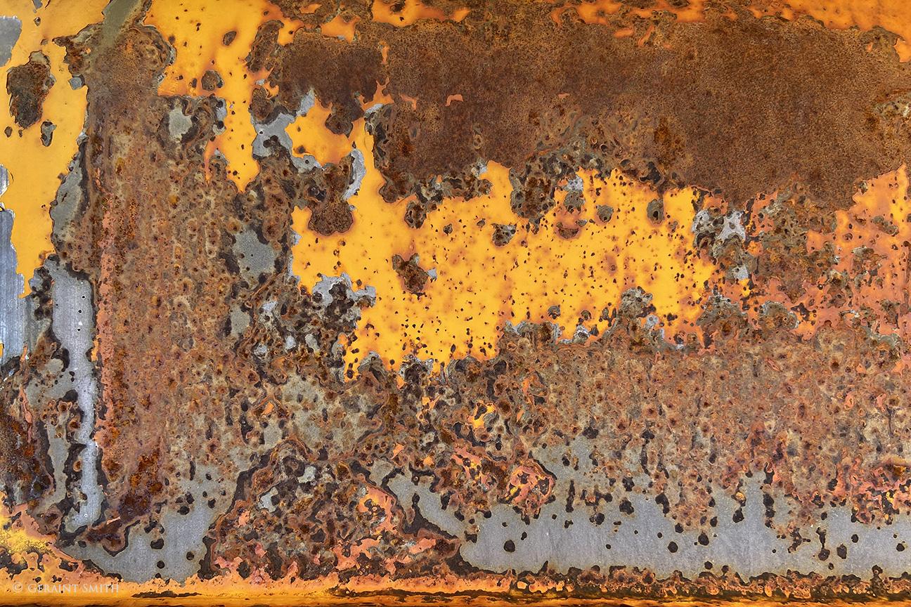 Autumn rust patina