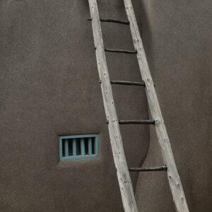 Ladder, Blue, Adobe