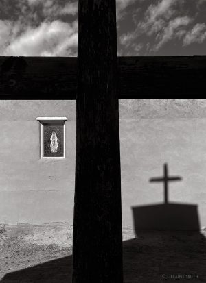 The church at Ojo Caliente New Mexico