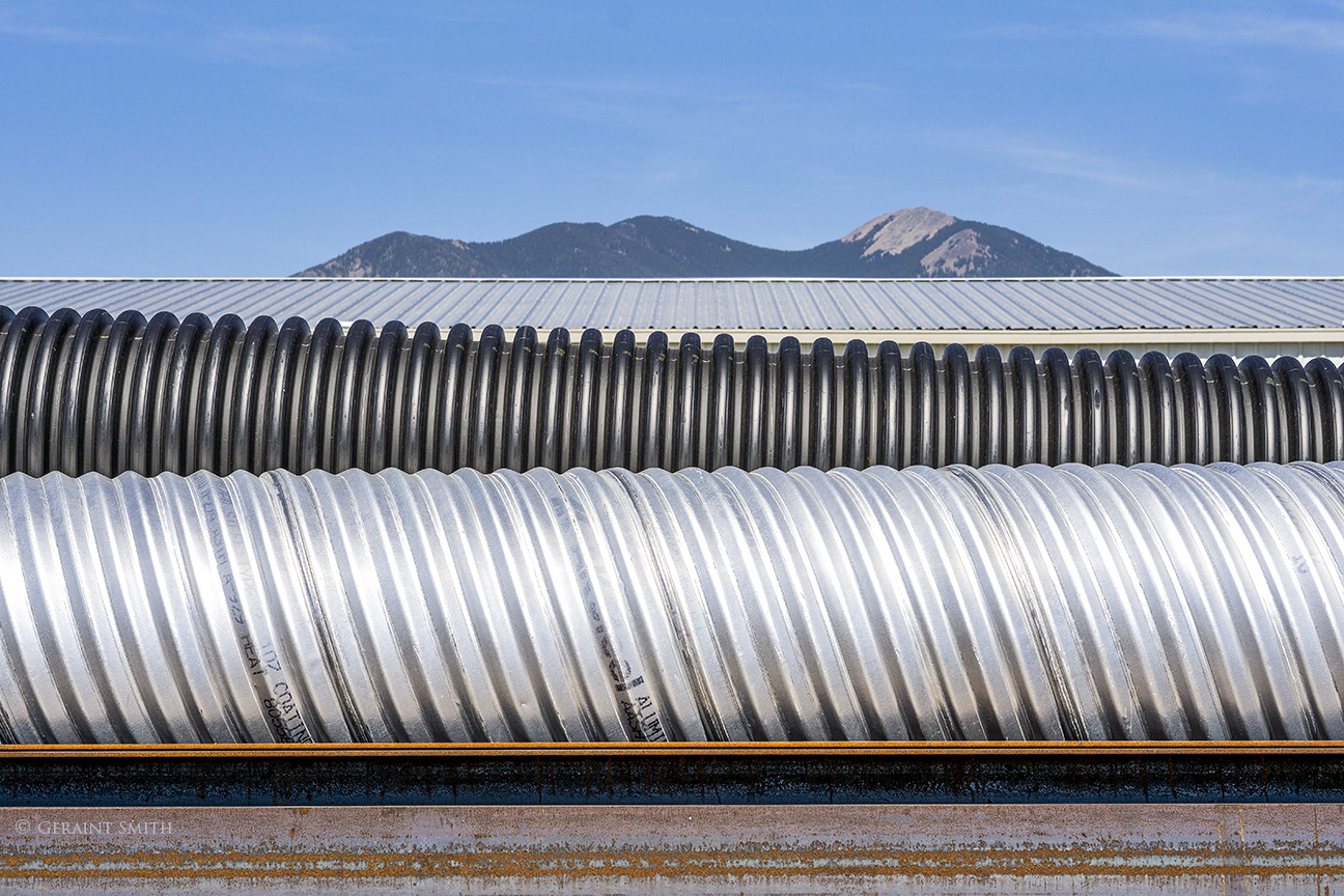 Taos Mountain and culverts
