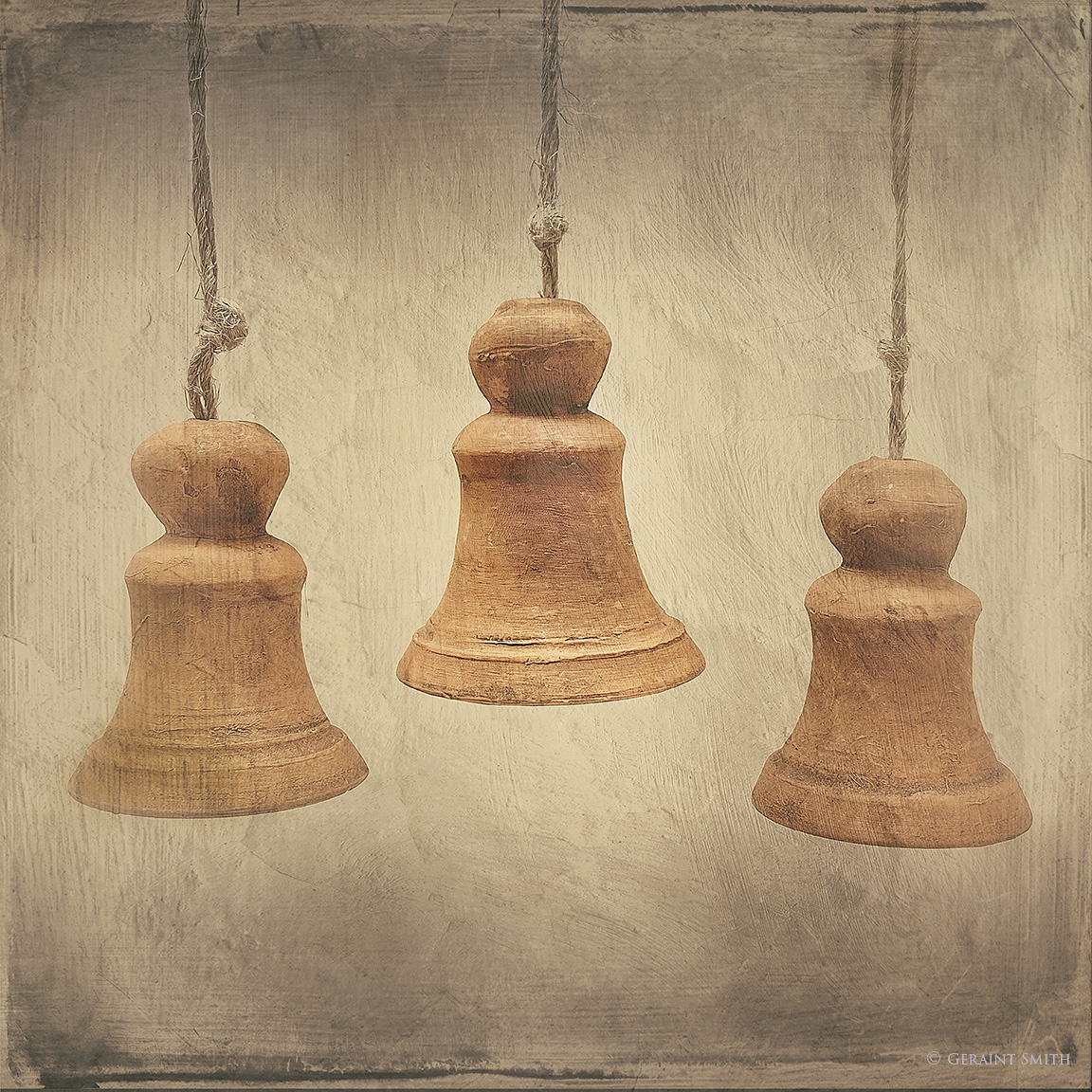 Three Clay Bells